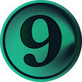Free Numeral Button-nine Royalty Free Stock Photography - 4851227