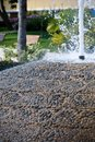 Free Closeup Of A Waterfountain Pebble Stone Detail Royalty Free Stock Image - 4851546