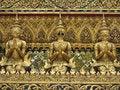 Free Golden Status In Grand Palace Bangkok Royalty Free Stock Images - 4856479