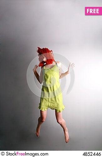 Free Jump For Joy... Royalty Free Stock Image - 4852446