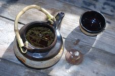 Free Green Tea Stock Photography - 4850212