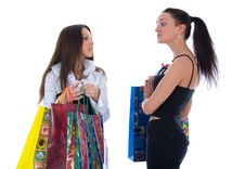 Free Business Lady Shopping Royalty Free Stock Photo - 4850605