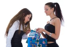 Free Business Lady Shopping Stock Photography - 4850612