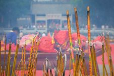 Free Chinese Incense Royalty Free Stock Photos - 4850808