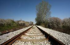 Free Railroad Tracks Stock Photos - 4851123