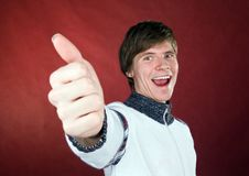 Thumb Up Stock Photography