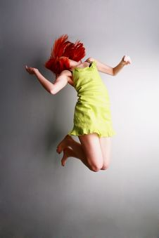 Free Jump For Joy Stock Photos - 4851473