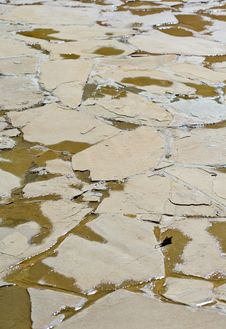 Free Closeup Of A Broken Cement Floor Stock Photo - 4851550