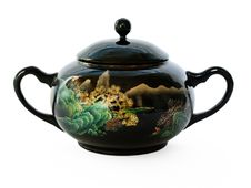 Free Ancient China Sugar Bowl Royalty Free Stock Photo - 4852155