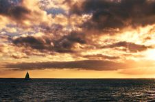 Free A Lonely Boat Stock Images - 4852224
