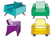 Free Sofas Stock Photos - 4852333