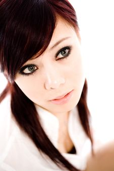 Free Gorgeous Looking Asian Face Stock Photography - 4852432