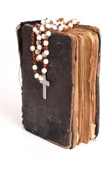 Free Old Holy Bible Royalty Free Stock Photography - 4852607