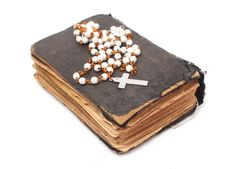 Free Old Holy Bible Royalty Free Stock Images - 4853979