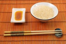 Free Rice And Sticks Stock Images - 4854104