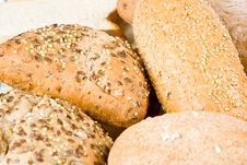 Free Types Of Bread Royalty Free Stock Images - 4854259