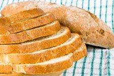 Free Sliced White Bread Royalty Free Stock Images - 4854279