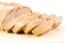 Free Sliced Walnut Bread Stock Images - 4854344