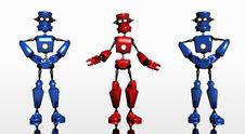 Free Robot Royalty Free Stock Image - 4855436
