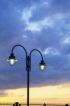 Free Lamp Post Stock Photography - 4855602
