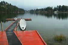 Free Long Lake, British Columbia Royalty Free Stock Image - 4855866