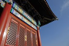 Chinese Old Architecture Stock Photography