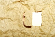 Free Crushed A Paper Royalty Free Stock Images - 4856629