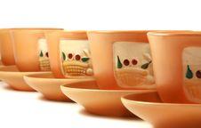 Free Gift Tea Service Royalty Free Stock Photo - 4856665