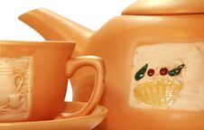 Free Gift Tea Service Royalty Free Stock Photography - 4856667