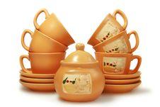 Free Gift Tea Service Royalty Free Stock Photos - 4856808