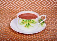 Free A Cup Of Cappuccino. Stock Photos - 4856853
