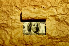 Free Paper And Dollar Stock Photography - 4856872