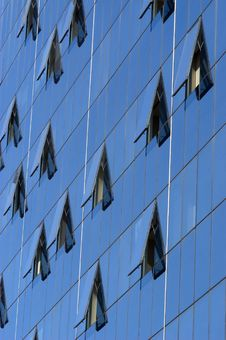 Free Modern Skyscraper Window Reflections Stock Photos - 4857073