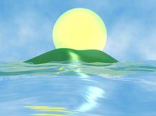 Free Sunny Day On The Sea Stock Photos - 4857313