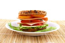 Free Sandwich Royalty Free Stock Photography - 4857987