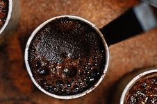 Free Turkish Coffee. Royalty Free Stock Photography - 4858467