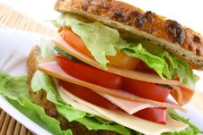 Free Sandwich Royalty Free Stock Photography - 4858627