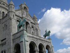Free Sacre Coeur Royalty Free Stock Image - 4858826