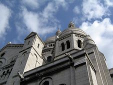 Free Sacre Coeur Royalty Free Stock Photography - 4858827