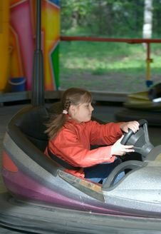 Free Toy Car In Park Of Entertainments Stock Images - 4859444