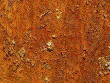 Rusty Surface Stock Image