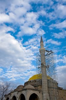 Free Mosque In Reconstruction Stock Photos - 4859673