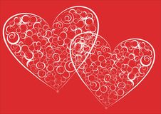 Free Two Hearts Royalty Free Stock Photo - 4859765