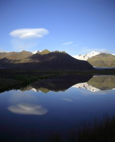 Free Glacier Reflection Stock Photo - 4859780