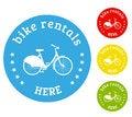 Free Bike Rental Icon Royalty Free Stock Photos - 48567228