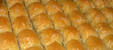 Traditional Turkish Baklava Stock Images