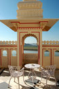 Free Terrace In Udaiur Royalty Free Stock Images - 4863199