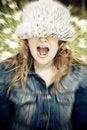 Free Screaming Woman Stock Image - 4865411