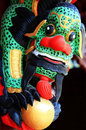 Free The Totem Of Dragon Royalty Free Stock Photos - 4867878