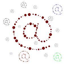 Internet Simbol Stock Images